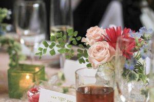 祝福と感謝が交わるパーティで、ゲストをもてなすのは極上の美味。
